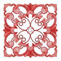 Mystic Bloom Quilt Squares - Set 1