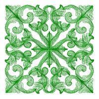 Mystic Bloom Quilt Squares - Set 3