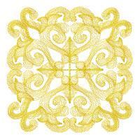Mystic Bloom Quilt Squares - Set 4