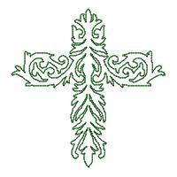 Lineart Crosses - Set 2