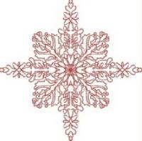 Twinkle Star - Redwork