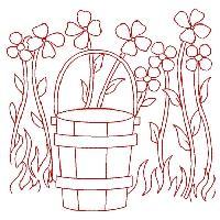 Redwork Gardening