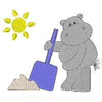 Beach Hippos