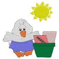 Gardening Ducks