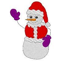 Red Hat SnowWoman