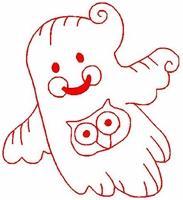 Redwork Ghosts 2