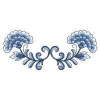 Delft Blue Flower