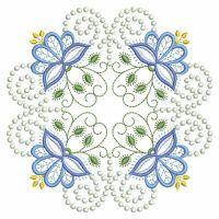 Candlewick Jacobean Flower Quilts