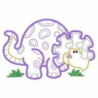 Vintage Baby Dinosaur