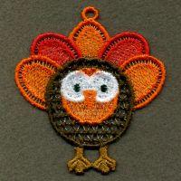FSL Thanksgiving Ornaments 2-7