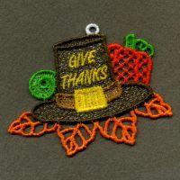 FSL Thanksgiving Ornaments 2-9