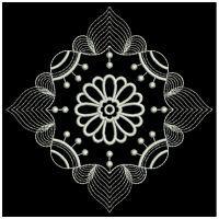 White Work Flowers 1
