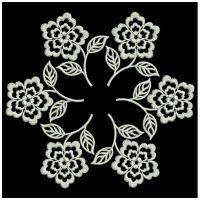 White Work Flowers 2
