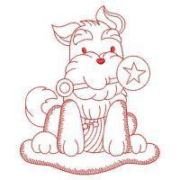 Redwork Baby Animals