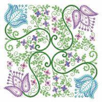 Vintage Jacobean Quilt 4
