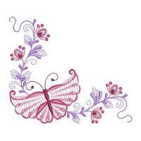 Rippled Butterfly Corners 4