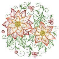 Rippled Poinsettia