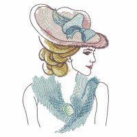 Watercolor Lady