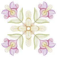 Rippled Fancy Flower Quilts