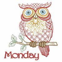 Days Of The Week Owls 2