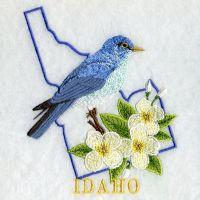 Idaho Bird And Flower