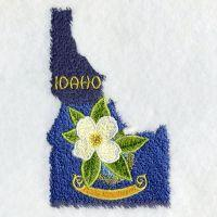 Idaho Bird And Flower