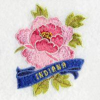 Indiana Bird And Flower