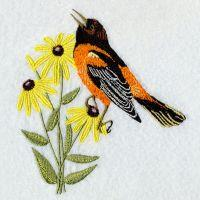 Maryland Bird And Flower