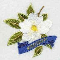 Mississippi Bird And Flower
