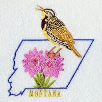 Montana Bird And Flower