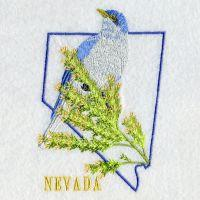 Nevada Bird And Flower