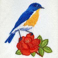New York Bird And Flower