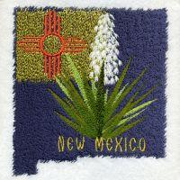 New Mexico Bird And Flower