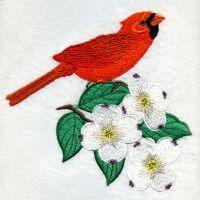 North Carolina Bird And Flower