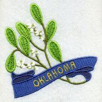 Oklahoma Bird And Flower