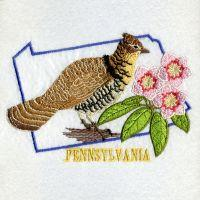 Pennsylvania Bird And Flower