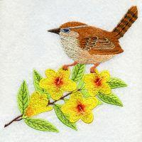 South Carolina Bird And Flower