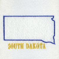 South Dakota Bird And Flower
