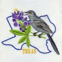 Texas Bird And Flower