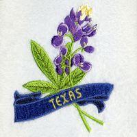 Texas Bird And Flower