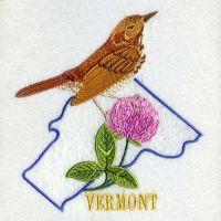 Vermont Bird And Flower