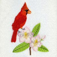 West Virginia Bird And Flower