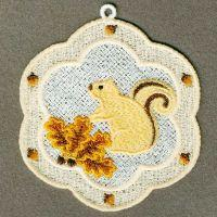 FSL Squirrel Ornaments