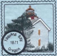 Oregon Lighthouse Stamps