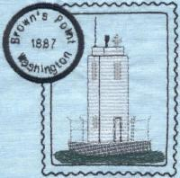 Washington Lighthouse Stamps