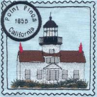 Southern California Lighthouse Stamps