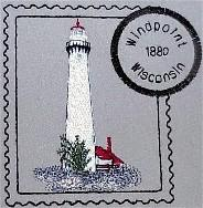 Wisconsin Set 2 Stamps