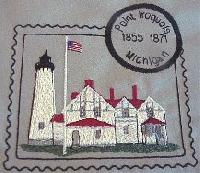 Michigan Wish List 1 Lighthouse Stamps