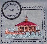 Louisiana & Florida Lighthouse Stamps