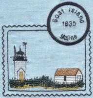 Maine Lighthouse Stamps